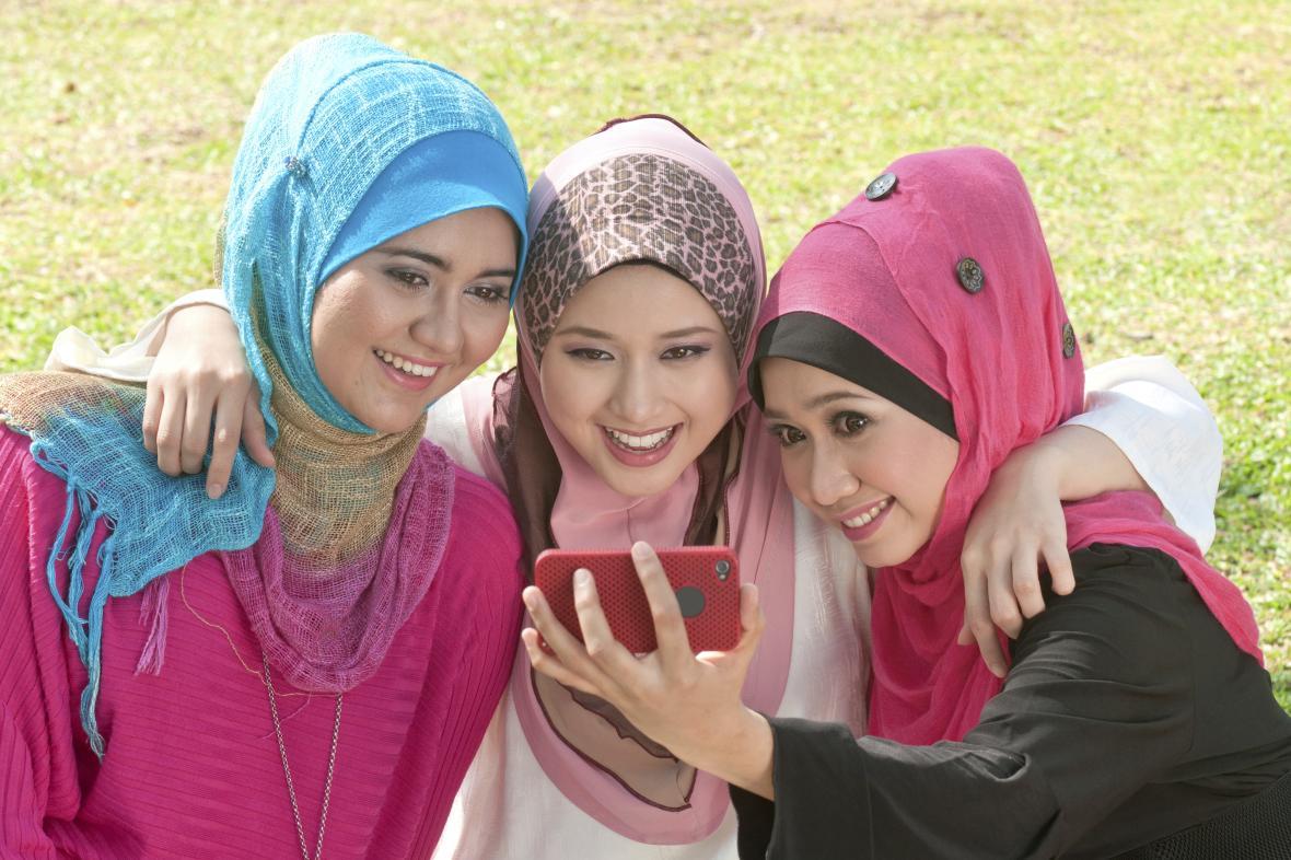 Muslimské dívky