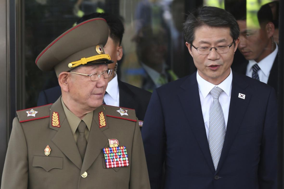 Hwang Pyong So a Ryoo Kihl-jae v Soulu