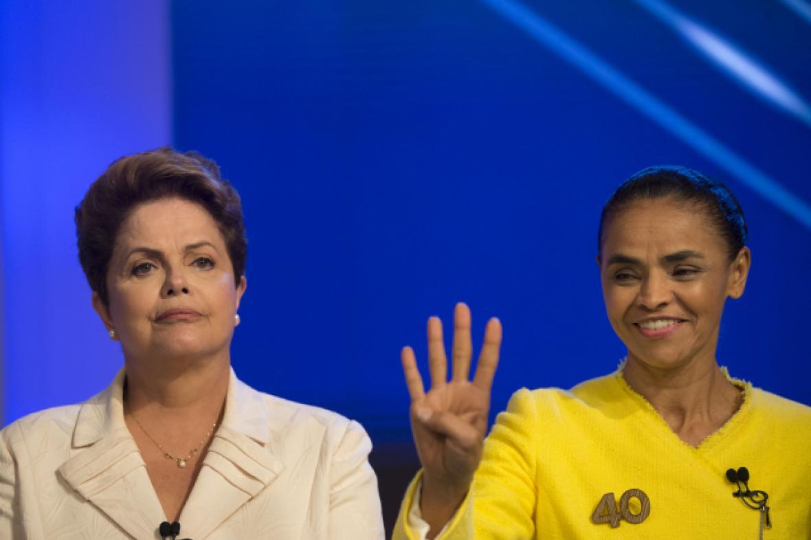 O Brazílii se utkají dvě ženy