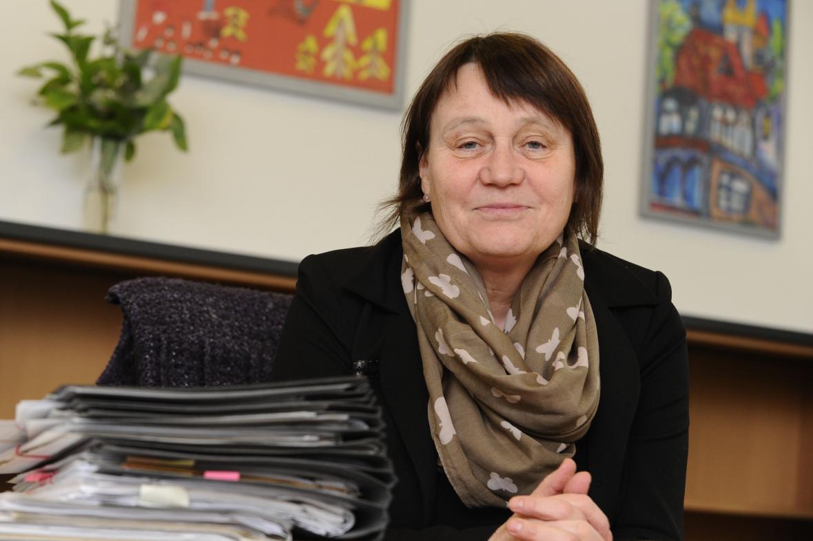 Ochránkyně práv Anna Šabatová