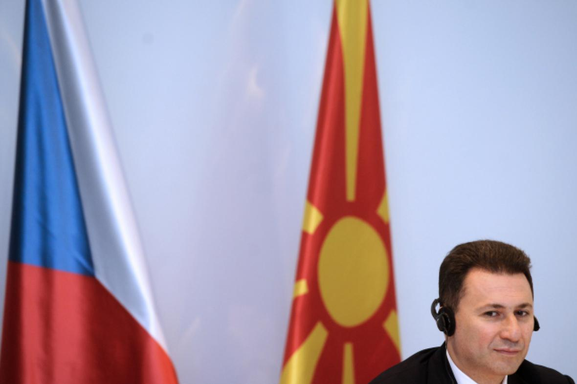 Premiér Makedonie Nikola Gruevski
