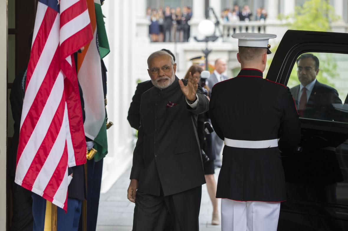 Indický premiér v Bílém domě