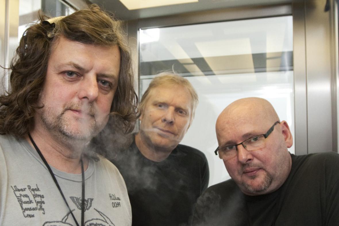 Richard Kroczek, Milan Nytra a Radek Pastrňák
