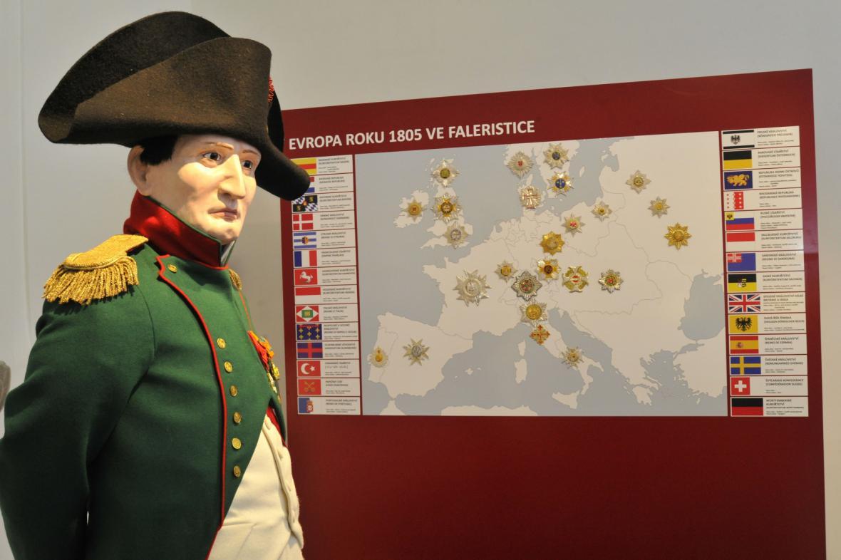 Expozice Austerlitz ještě s Napoleonem