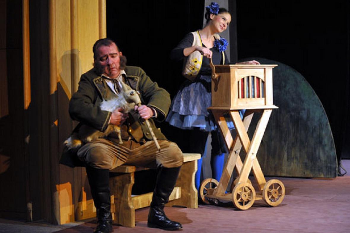 Krkonošské pohádky v brněnském Divadle Radost