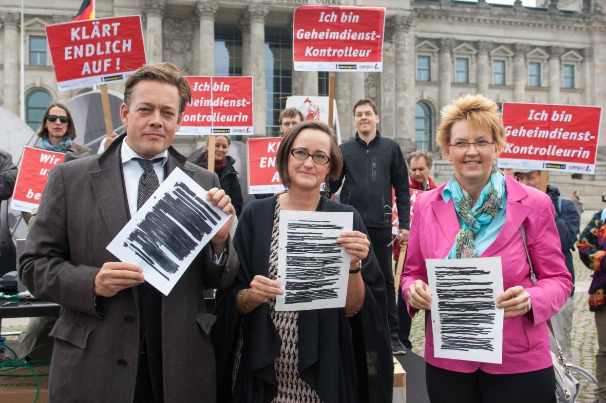 Německá opozice požaduje vyšetření působení amerických tajných služeb