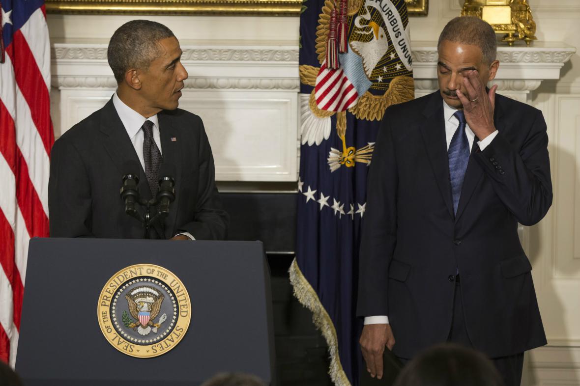 Eric Holder oznámil odchod z funkce