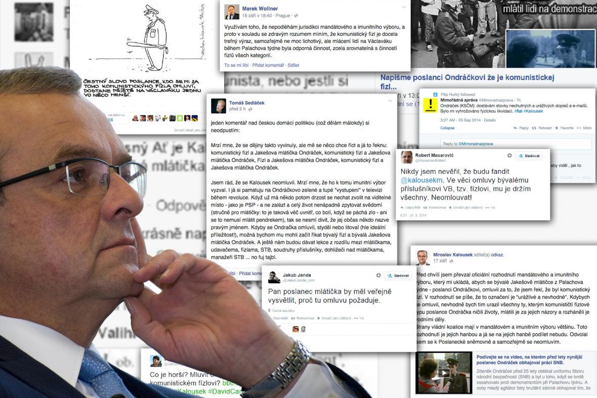 Případ omluvy Miroslava Kalouska na sociálních sítích