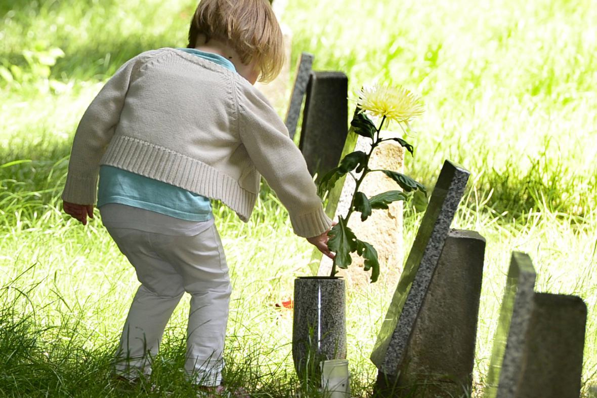 Dětský hřbitov v Ďáblicích