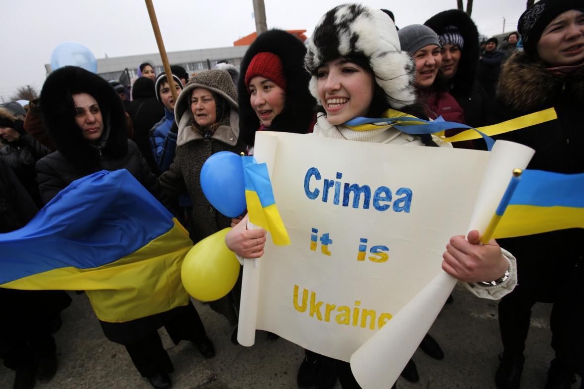 Protest krymských Tatarů