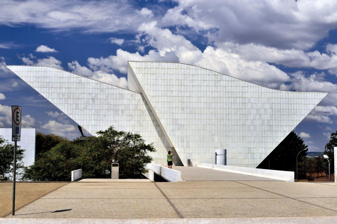 Stavba architekta Oscara Niemeyera