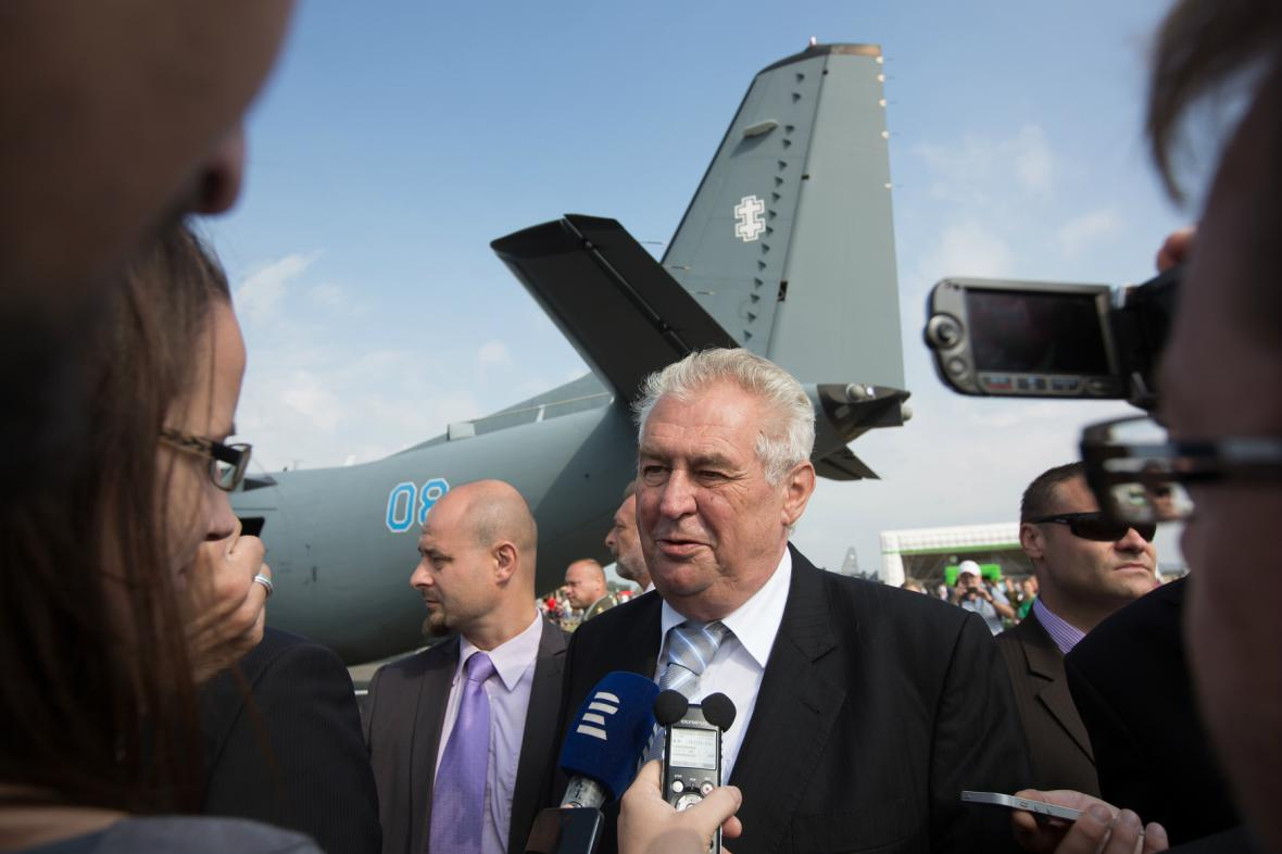 Miloš Zeman na Dnech NATO