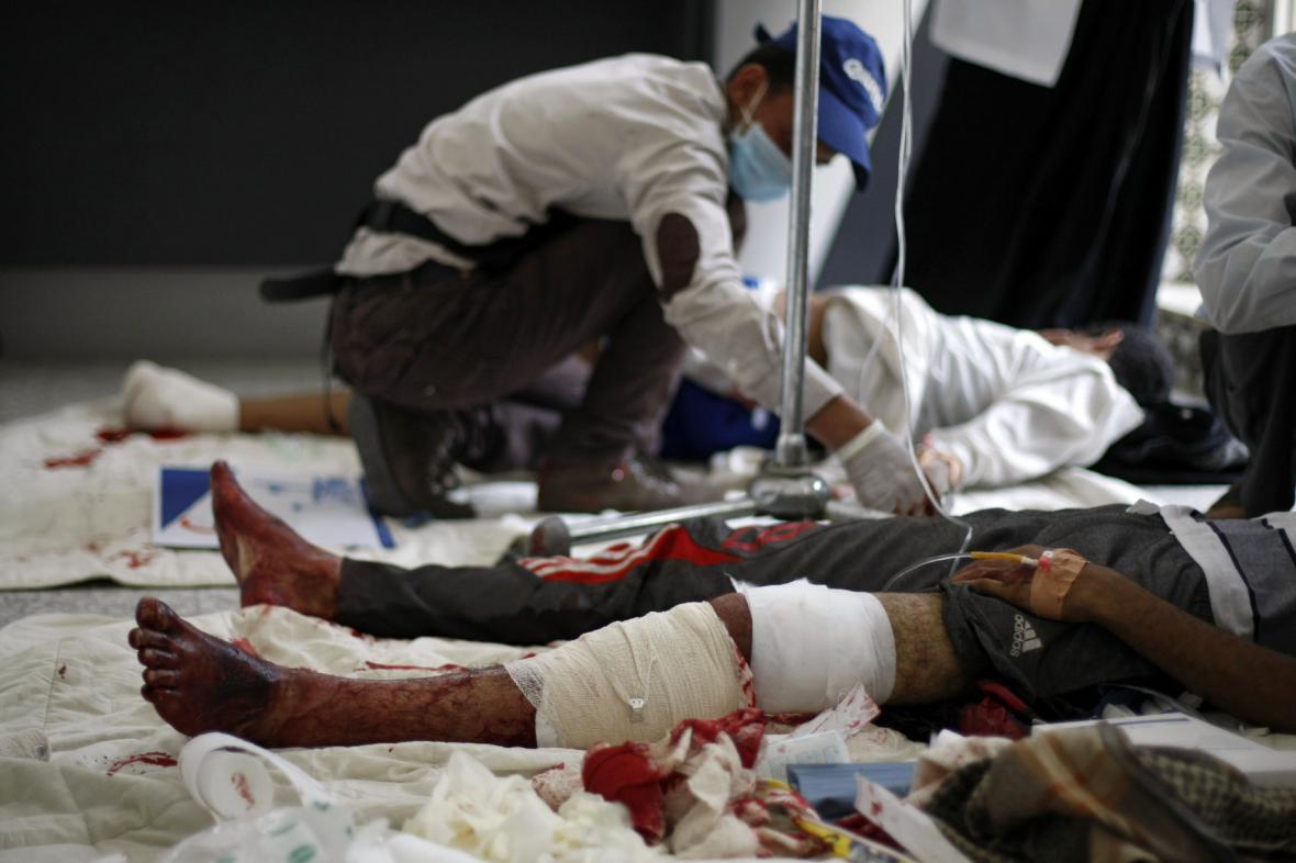 Masakr v Jemenu