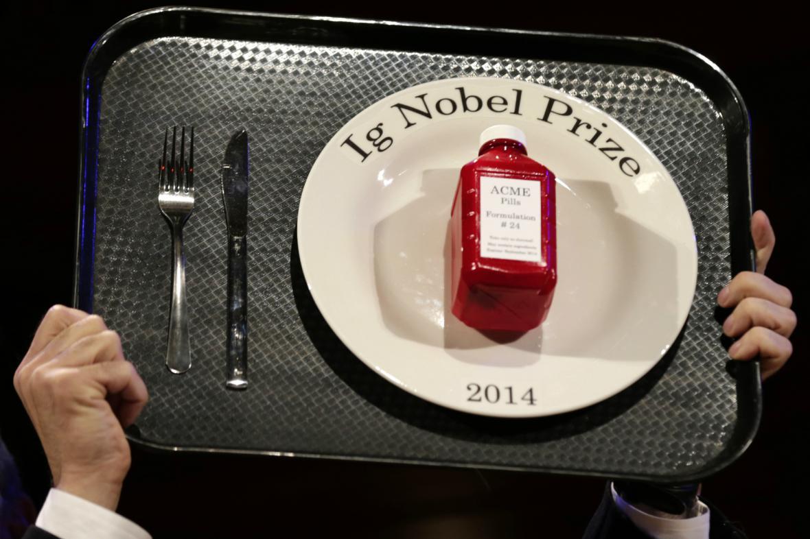 Žertovná Nobelova cena