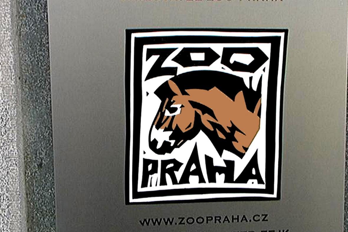 Bývalé logo pražské zoo od Michala Cihláře