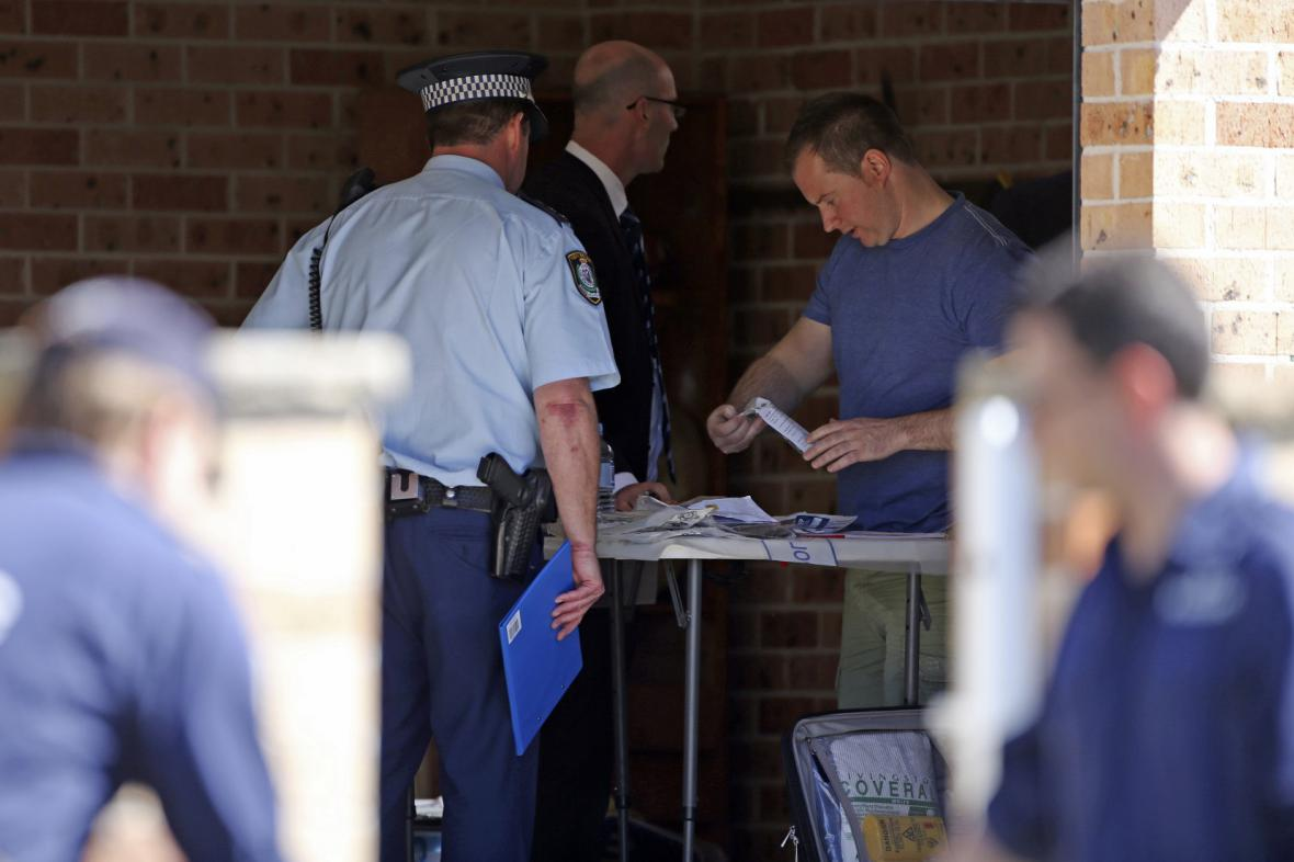 Protiteroristický zátah v Austrálii