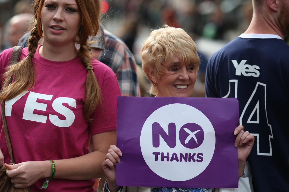 Výsledek skotského referenda bude nejspíše velmi těsný