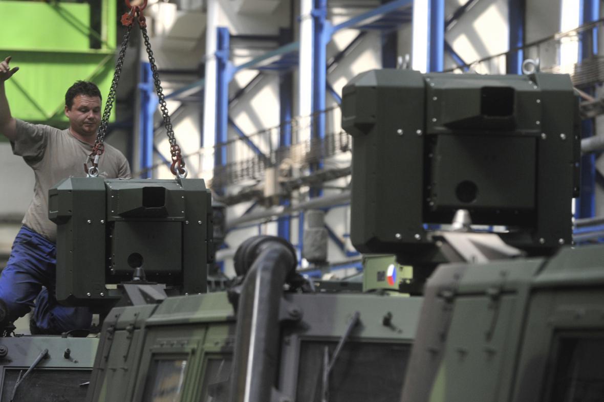 Strojírenství a zbrojní výroba