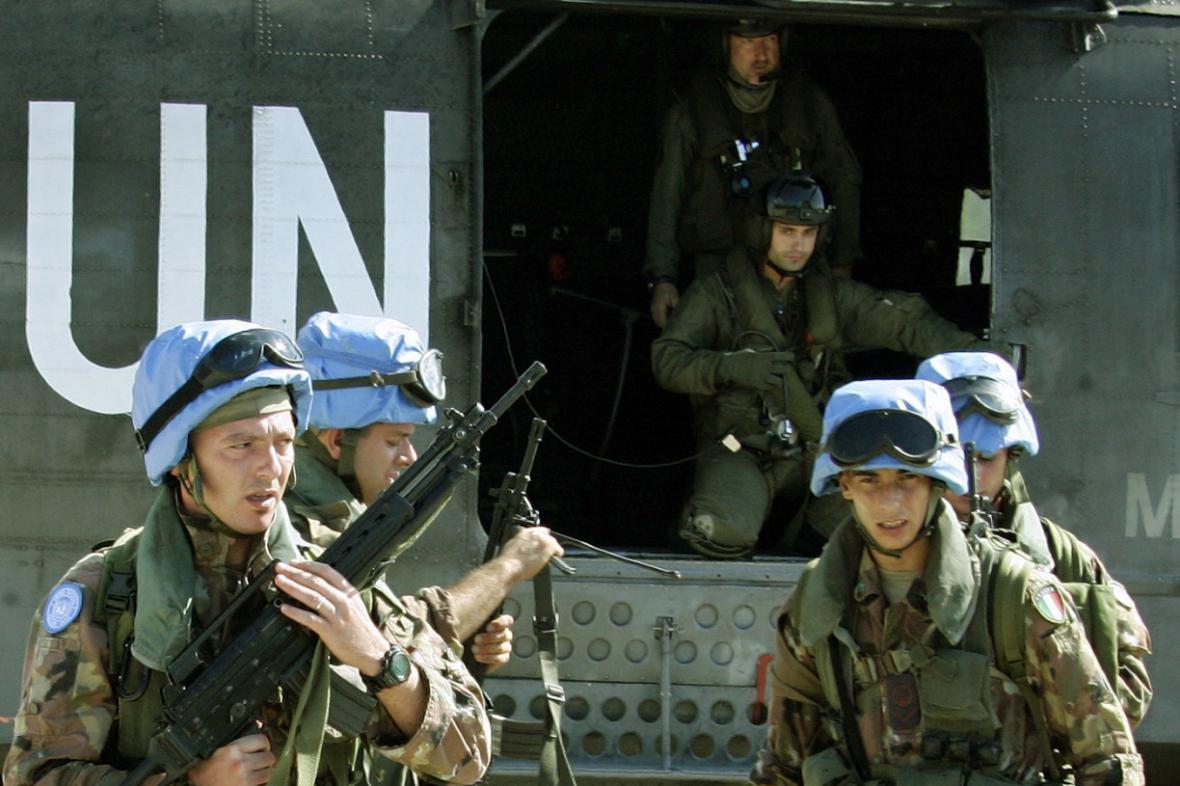 Mírové jednotky OSN - ilustrační foto