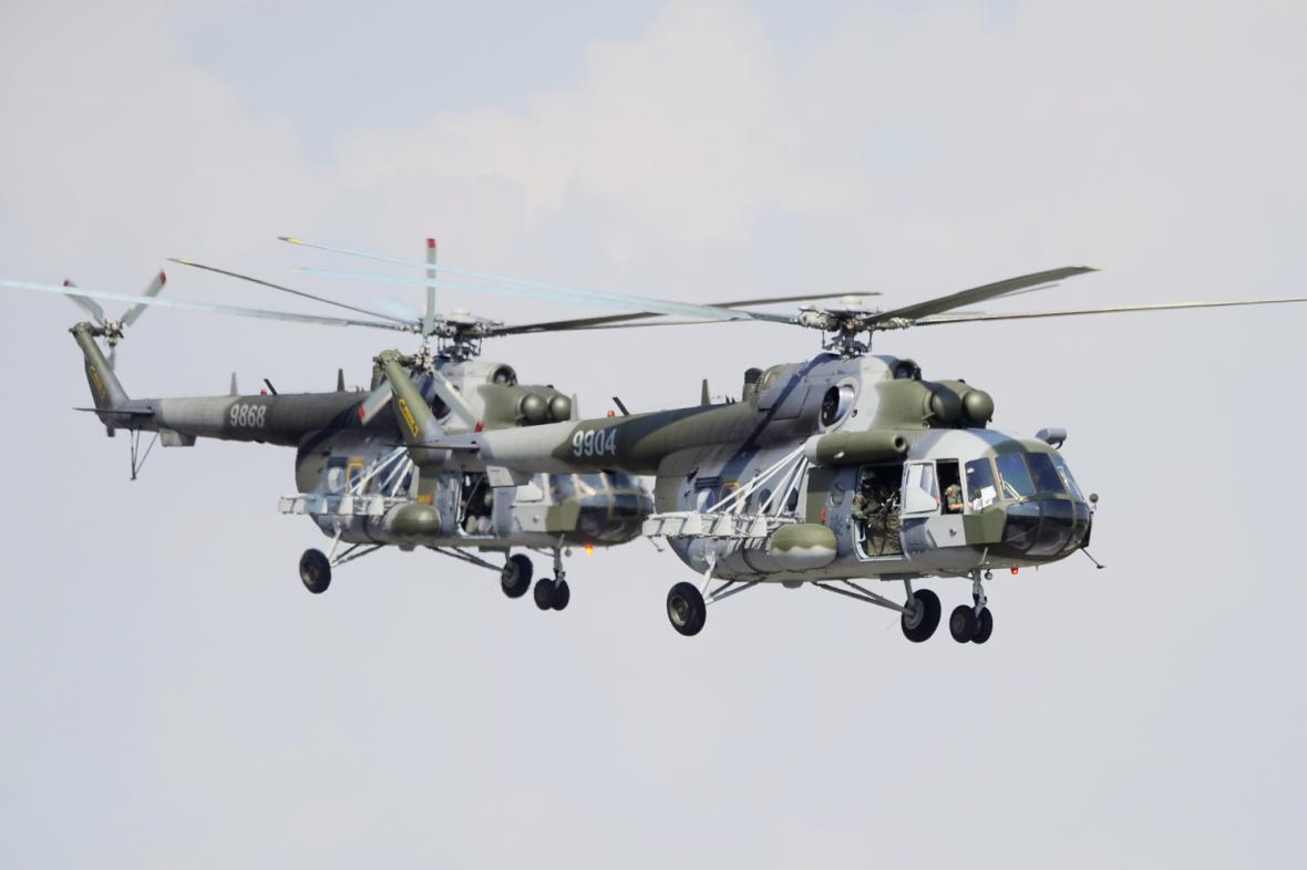 Vrtulníky Mil Mi-171 Š Armády ČR