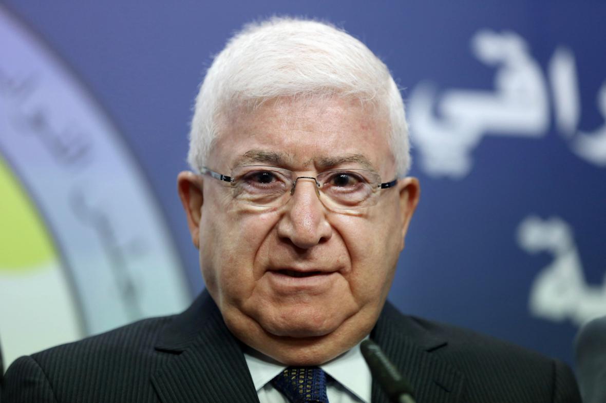 Irácký prezident Fuád Masúm