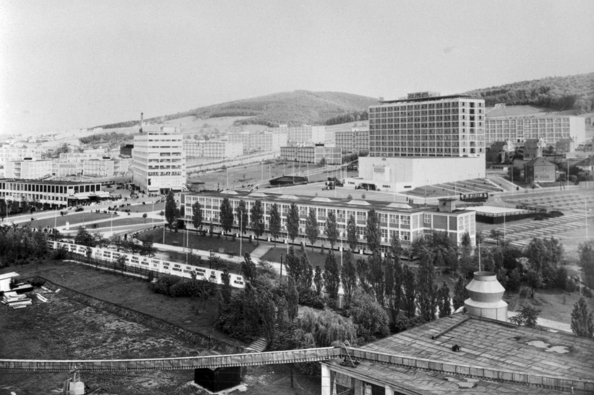 Baťovy závody ve Zlíně v roce 1933