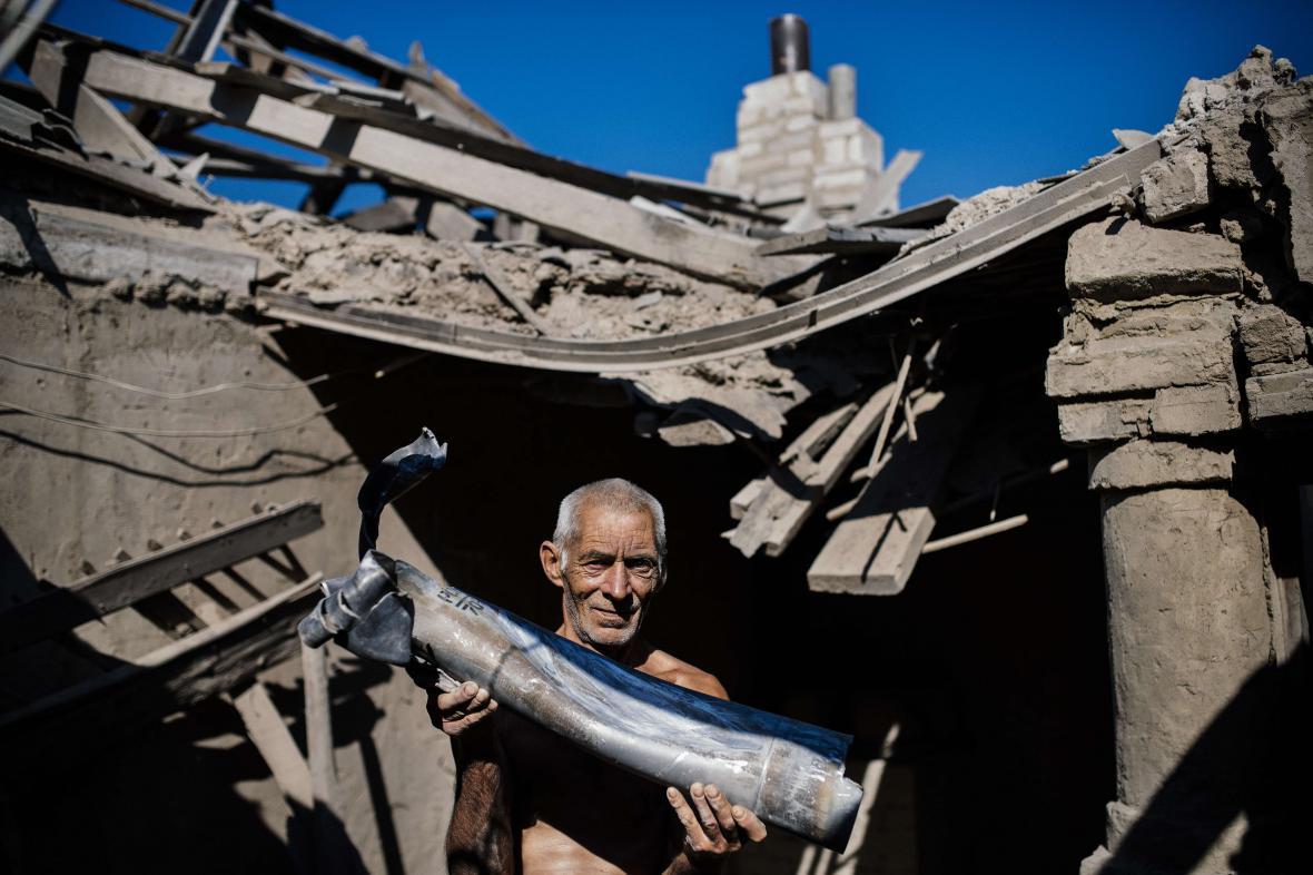 Následky bojů na východě Ukrajiny