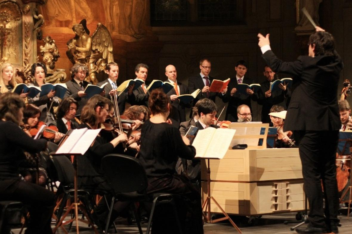 Collegium Vocale 1704 a Collegium 1704