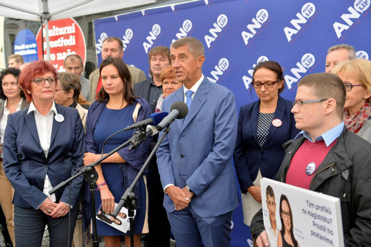 Hnutí ANO zahajuje kampaň pro senátní a komunální volby
