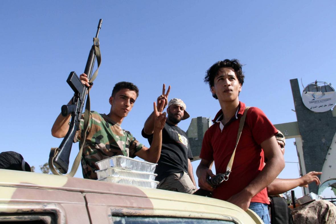 Libyjští ozbrojenci