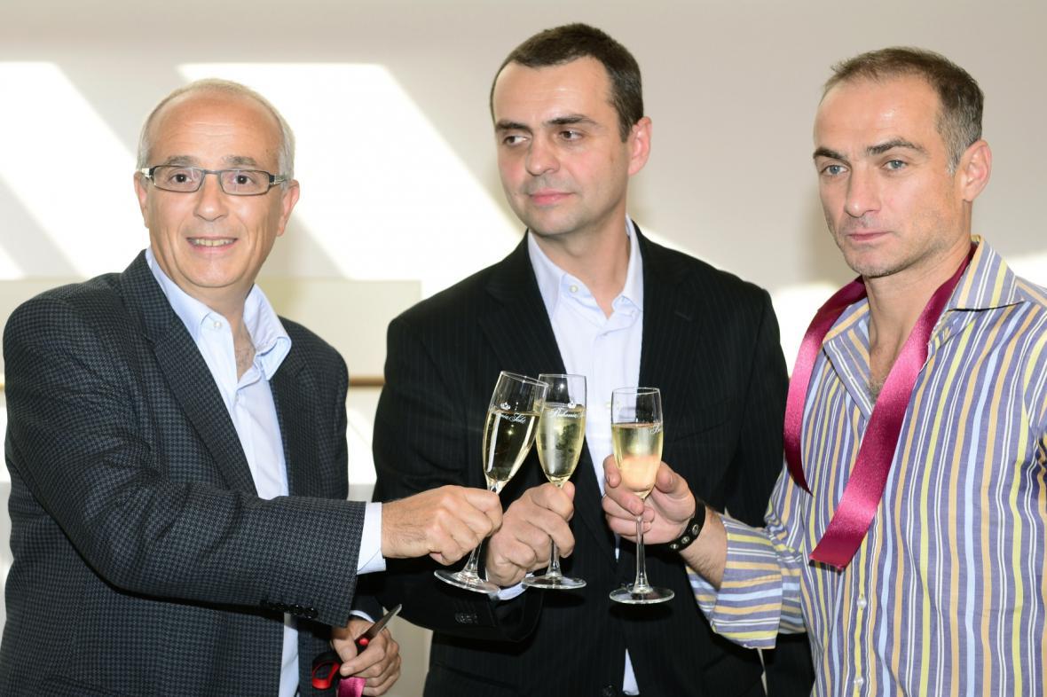 Jan Burian, Václav Pelouch a Petr Zuska