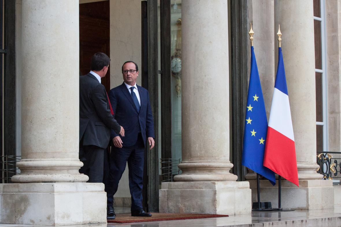 Manuel Valls a Francois Hollande