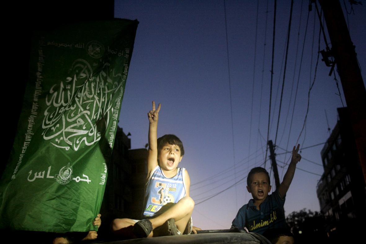 Palestinské děti