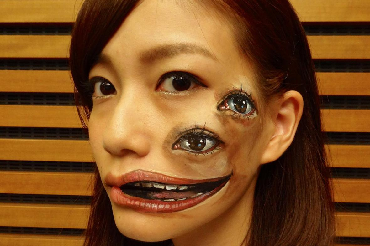 Body painting / Hikaru Cho