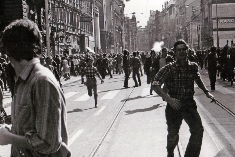 Nepokoje v pražských ulicích 21. srpna 1969