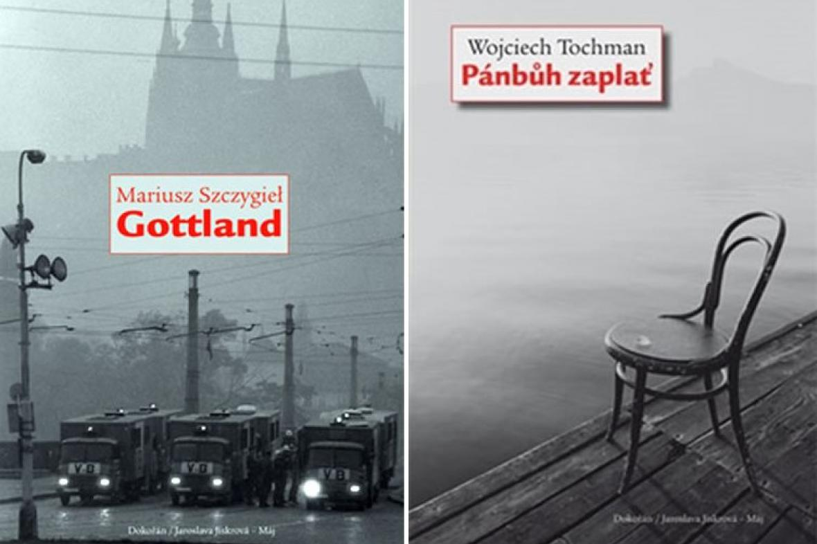 Knihy Mariusze Szczygiela a Wojciecha Tochmana