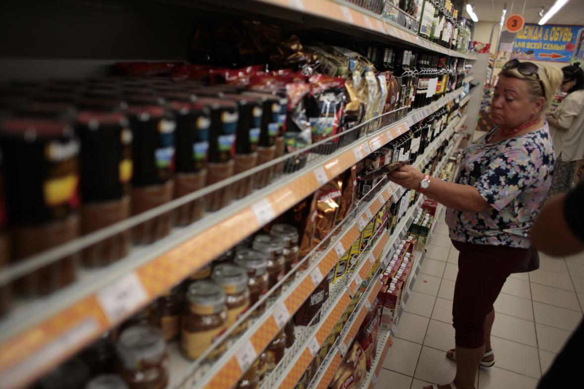 Ruský supermarket
