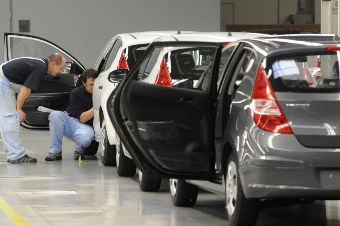 Závod automobilky Hyundai v Nošovicích