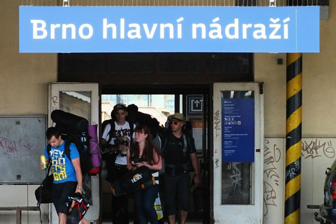 Hlavní nádraží Brno