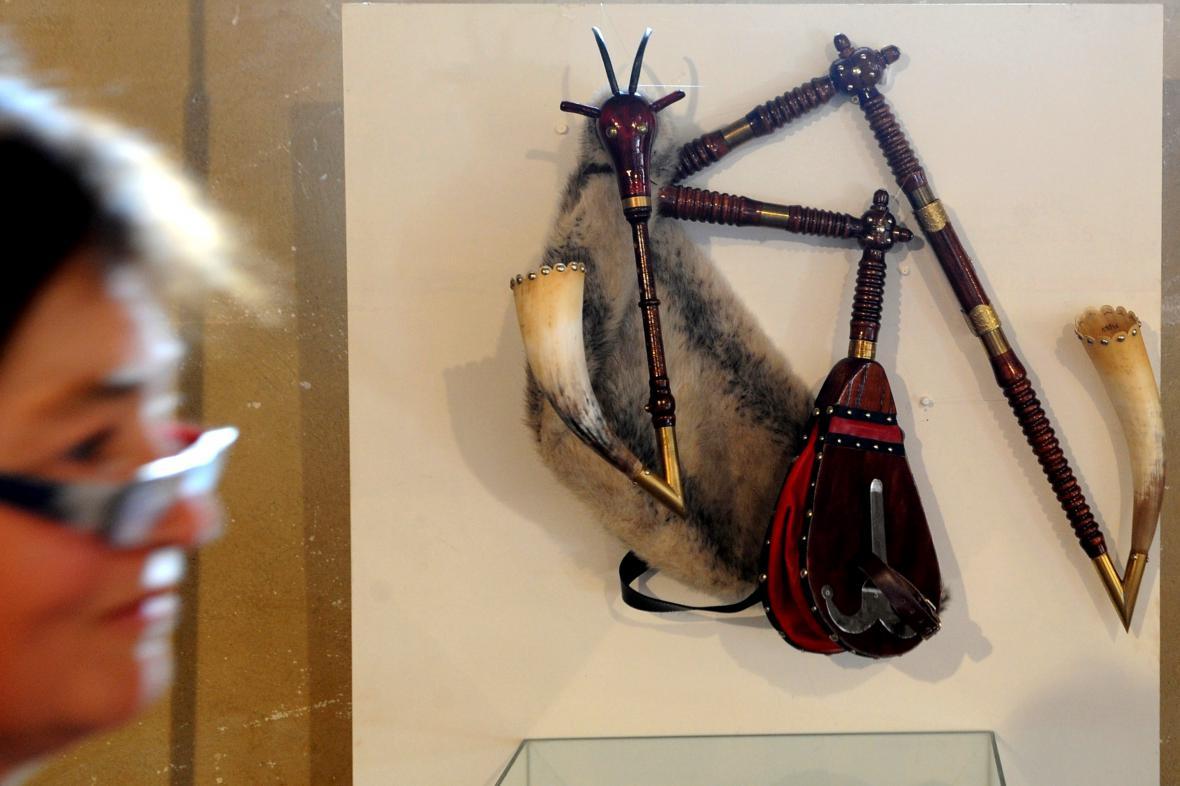 Výstava dud v Muzue středního Pootaví