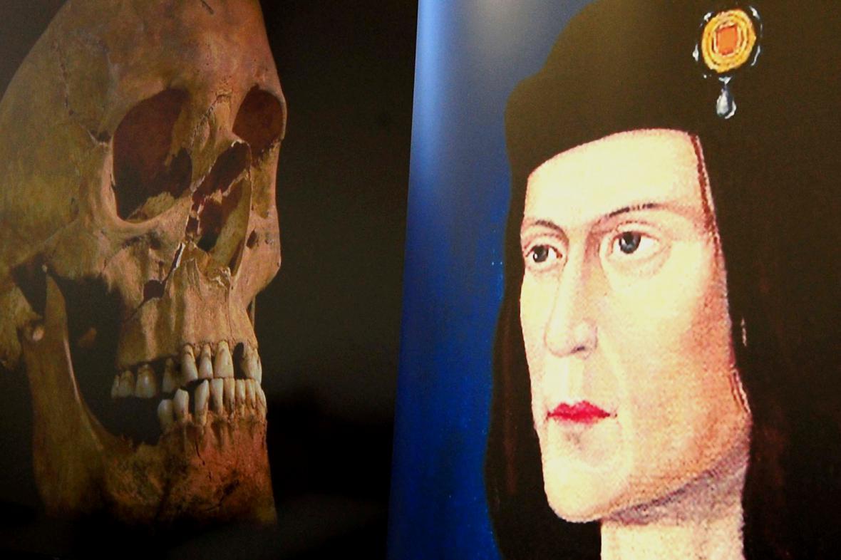 Lebka krále Richarda III.