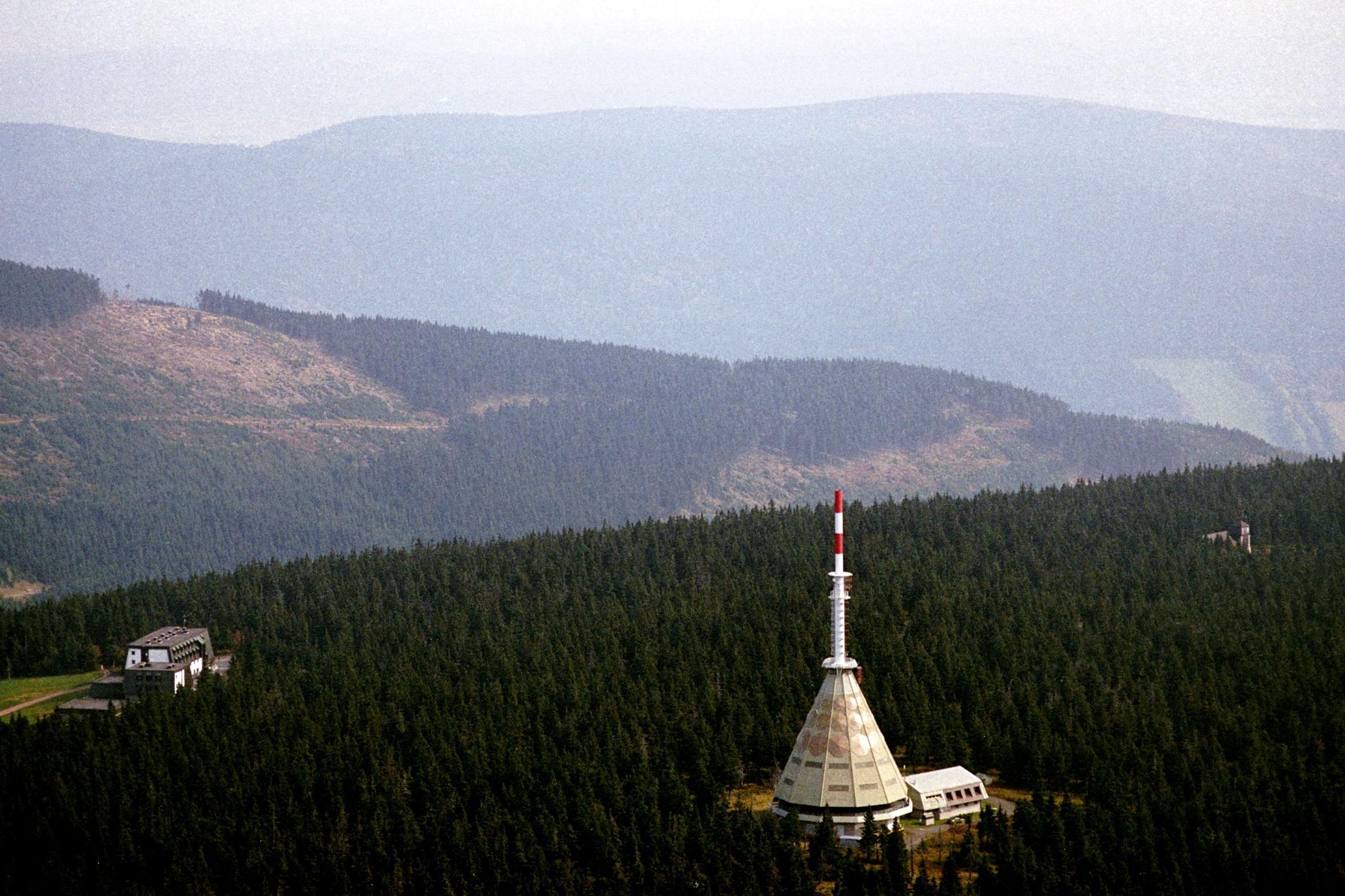 Televizní vysílač na Černé hoře