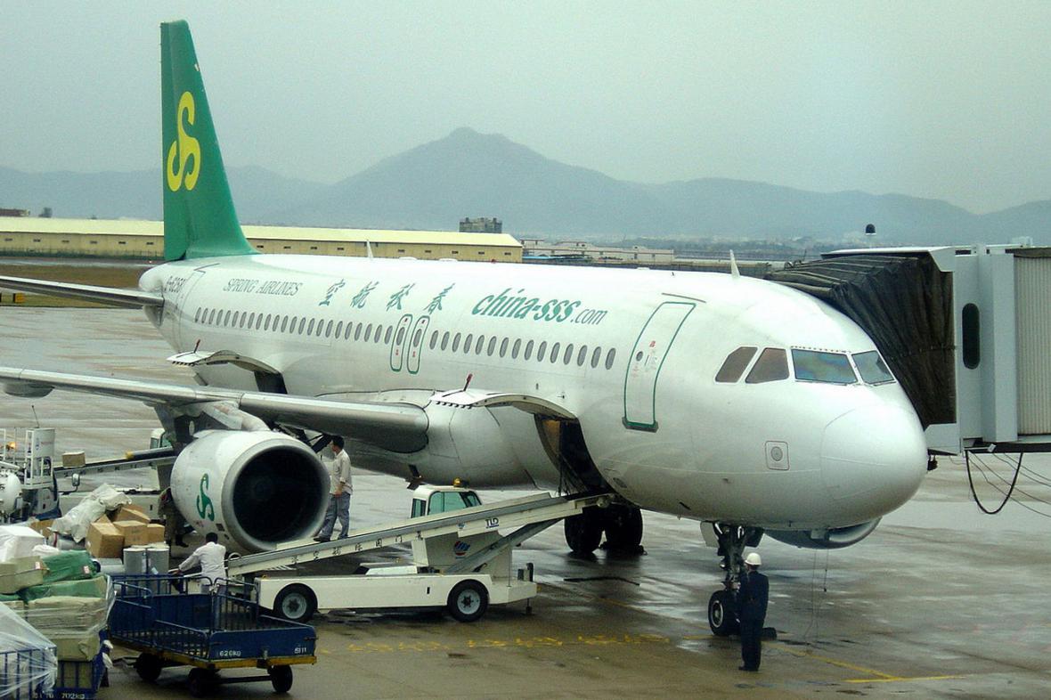 Letadlo společnosti Spring Airlines