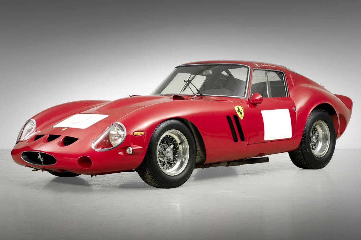 Ferrari 250 GTO Berlinetta prodané na aukci