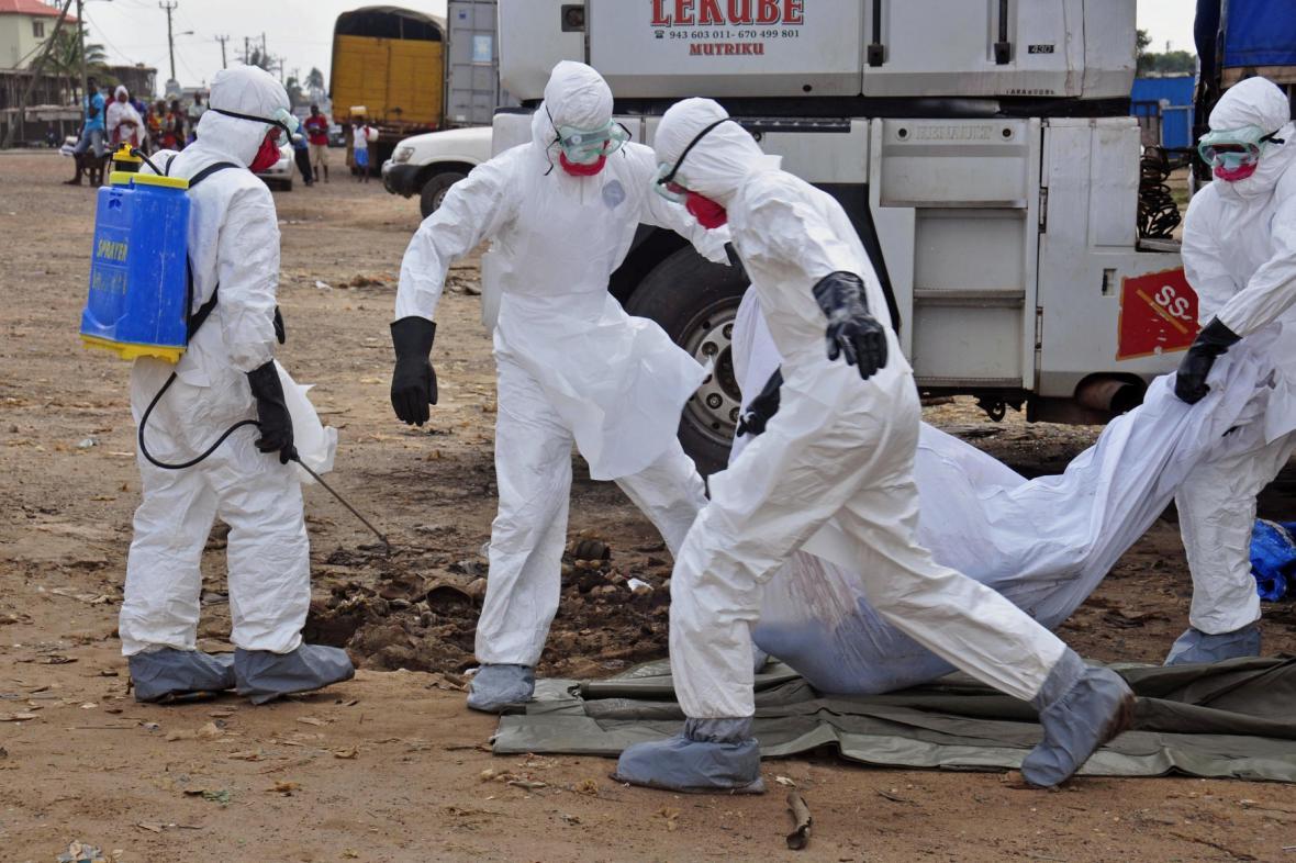 Virus ebola zabíjí
