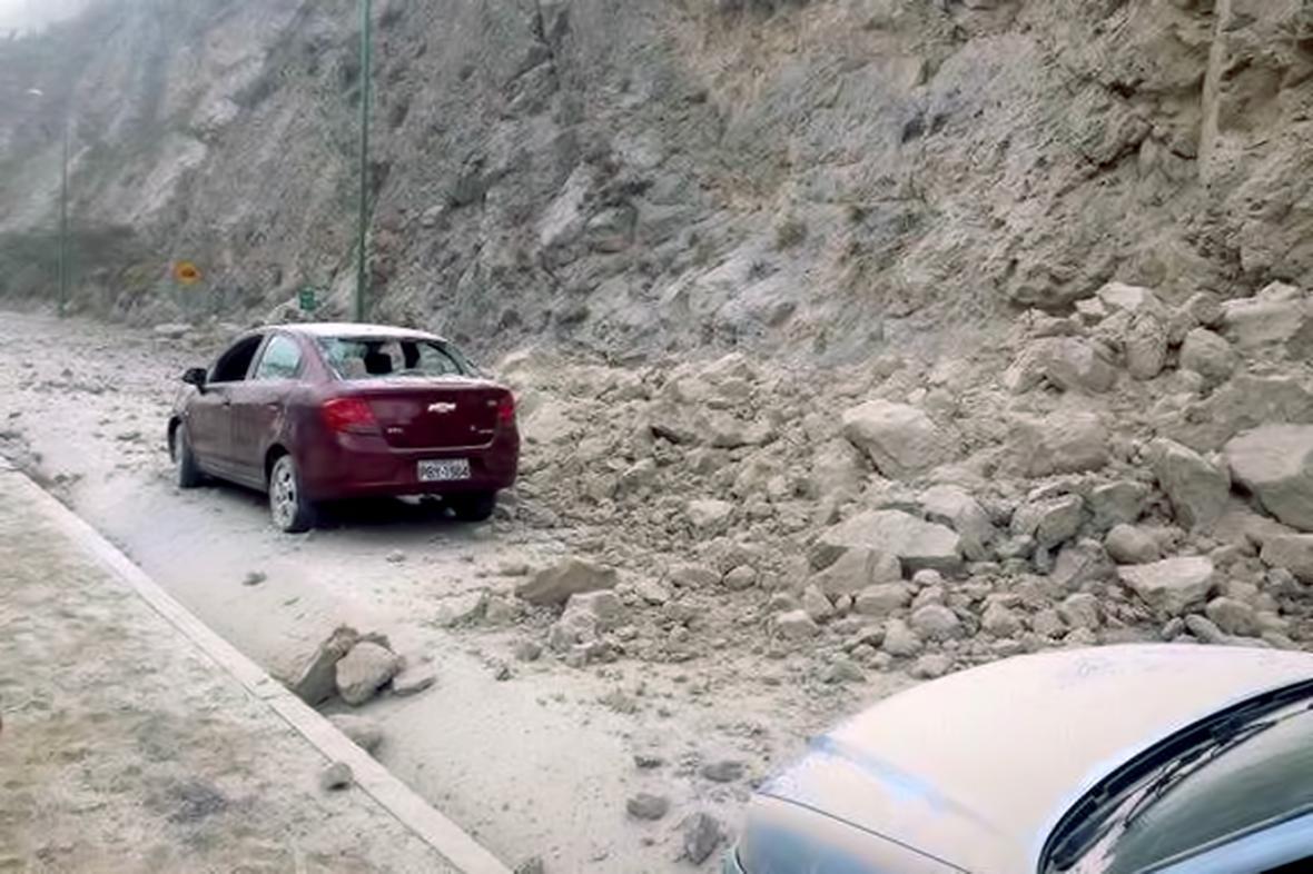Následky zemětřesení v Ekvádoru