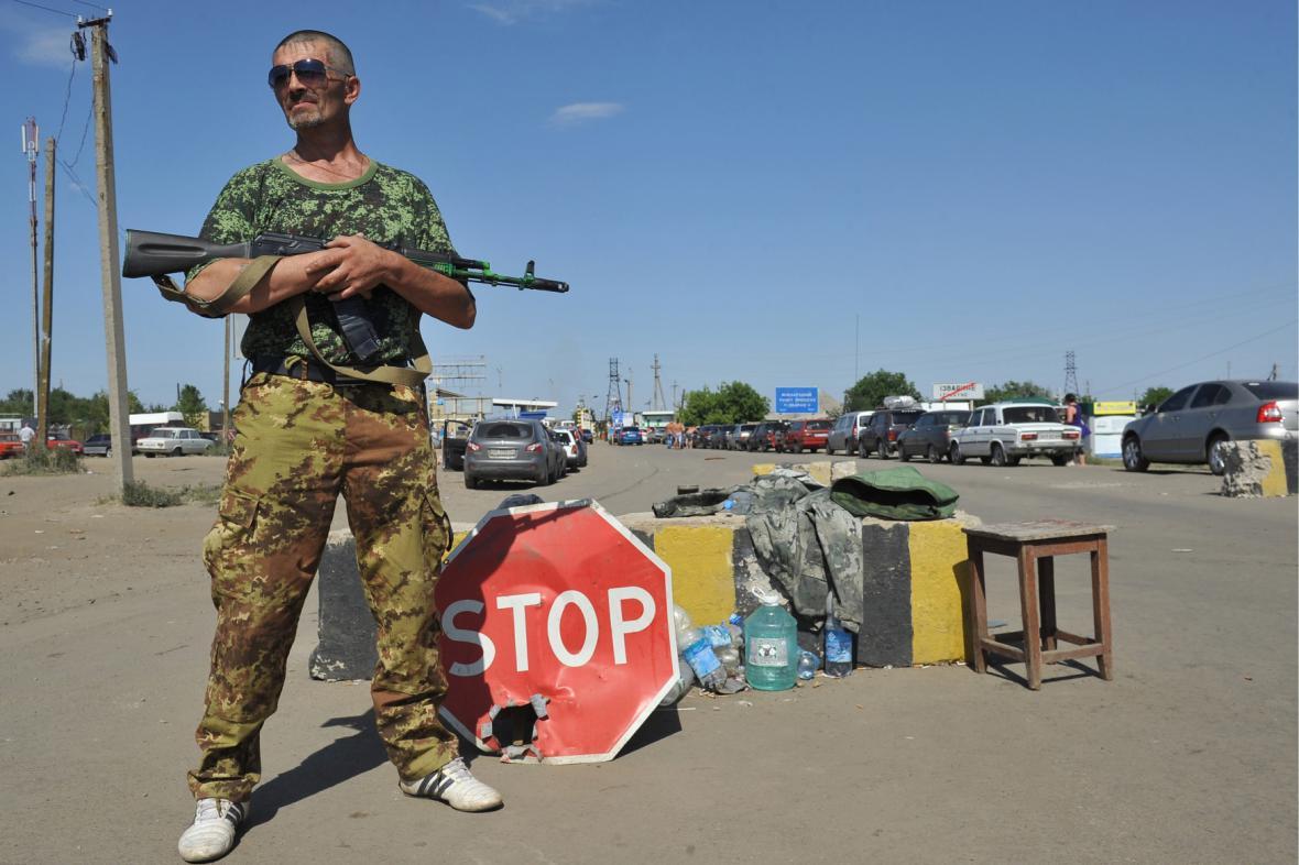 Ukrajinsko - ruská hranice
