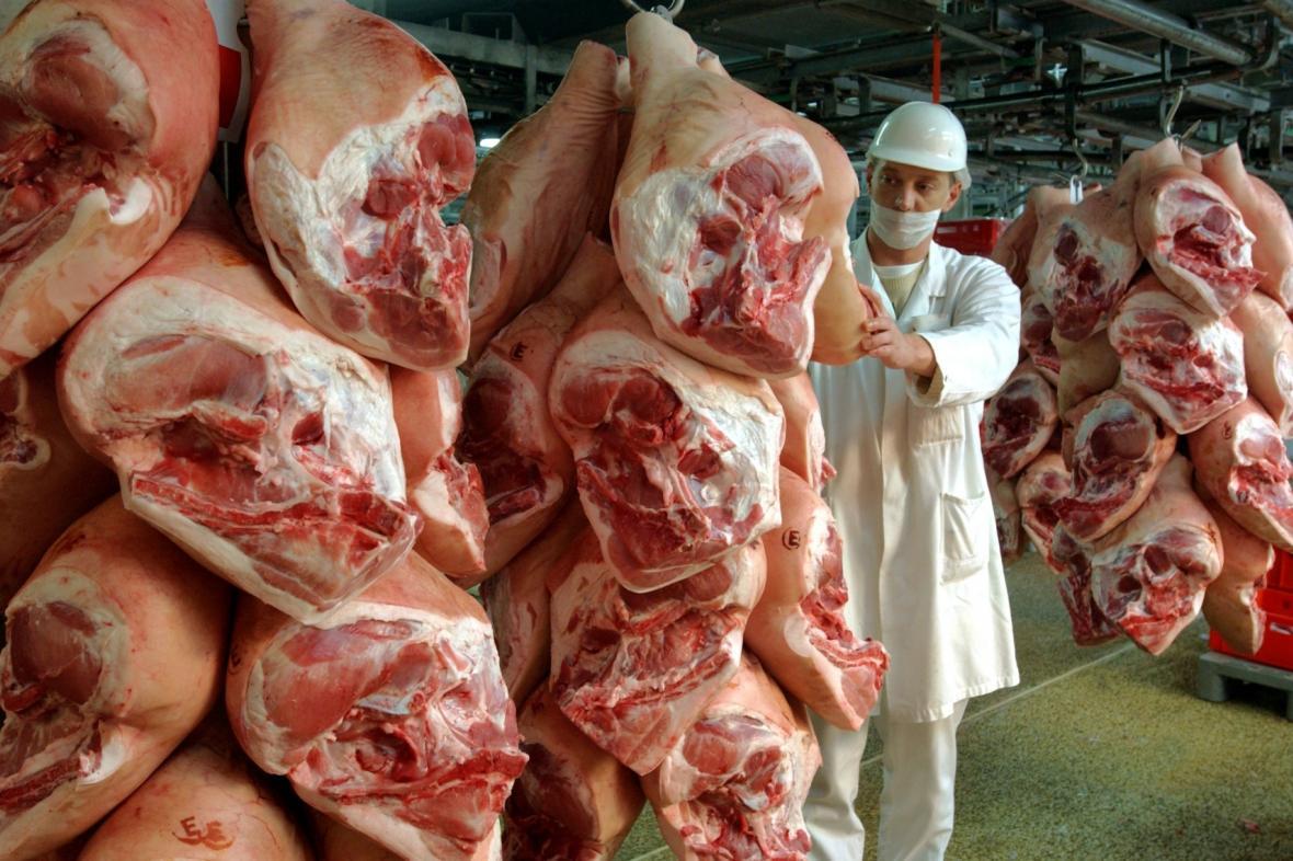 Velkozpracování vepřového masa