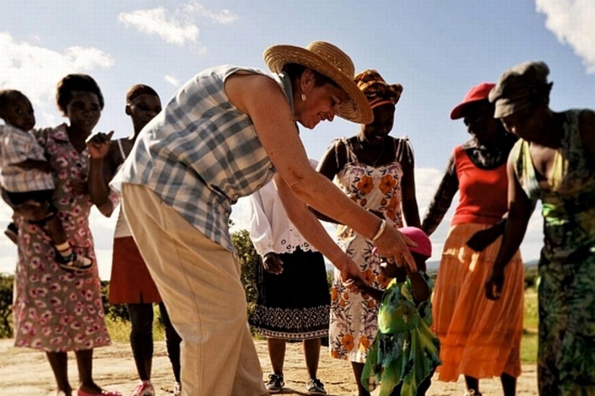 Dr. Marie Imbrová v Zimbabwe