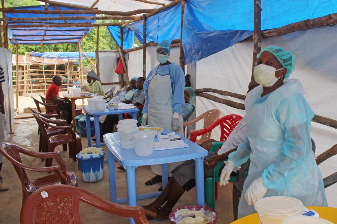 Boj s ebolou v západní Africe